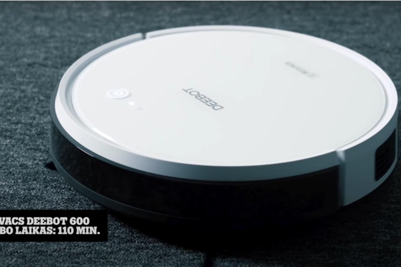 """""""Ecovacs Deebot 600"""".<br>""""Tele2"""" nuotr."""