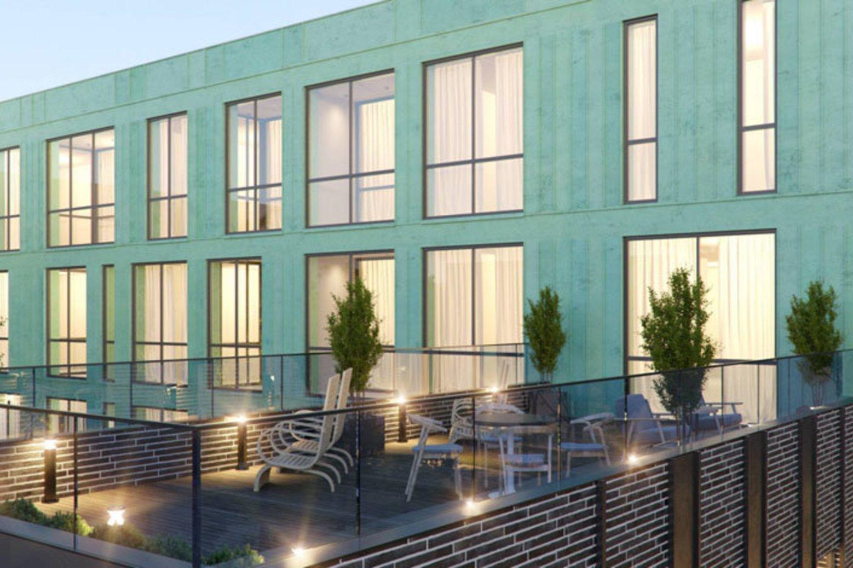 """Pradedamame statyti naujame daugiabutyje S. Daukanto g. 11 bus tik keturiolika butų, tačiau vieni jame suplanuoti apartamentai gali pretenduoti į brangiausio šiuo metu uostamiestyje parduodamo naujos statybos buto titulą.<br>""""D11"""" nuotr."""