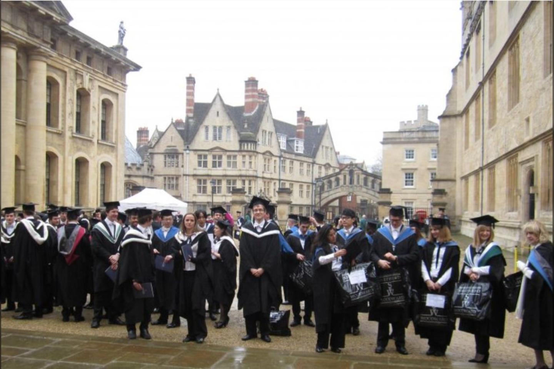 Iškilmių diena Imperatoriškame Londono koledže, kai A. Vyšniauskas gavo mokslų daktaro laipsnį.<br>Asmeninio archyvo nuotr.