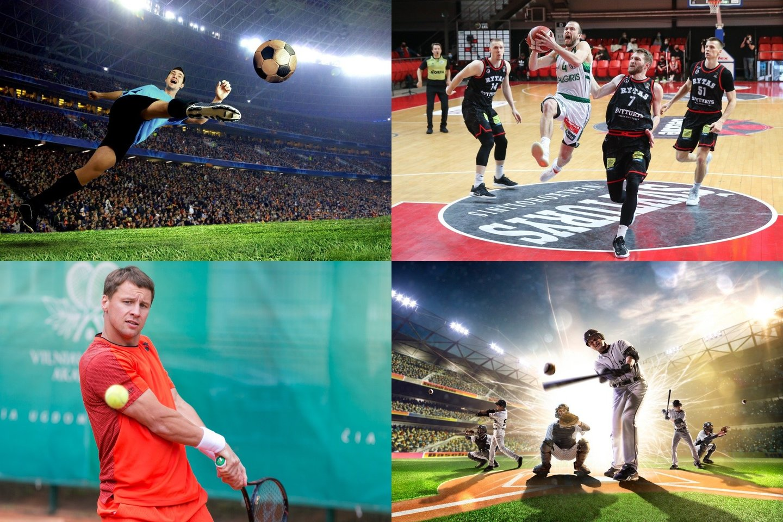 Vien JAV 66 procentai žmonių aktyviai žiūri sporto varžybas. Jei šį procentą pritaikytume pasauliniu mastu, žiūrinčių sportą žmonių skaičius būtų įspūdingas.<br>123rf / R. Danisevičiaus, T. Bauro nuotr.