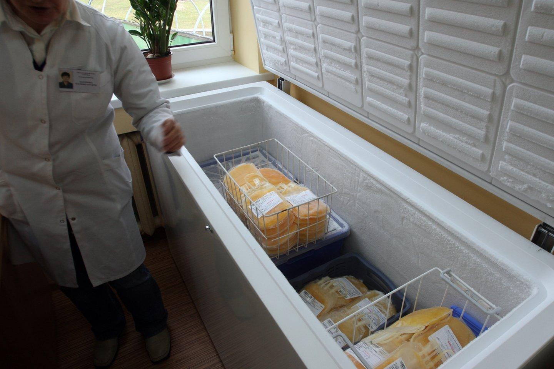 Vilniaus universitetinėje ligoninėje (VUL) Santaros klinikose trūksta kraujo.<br>G.Šiupario nuotr.