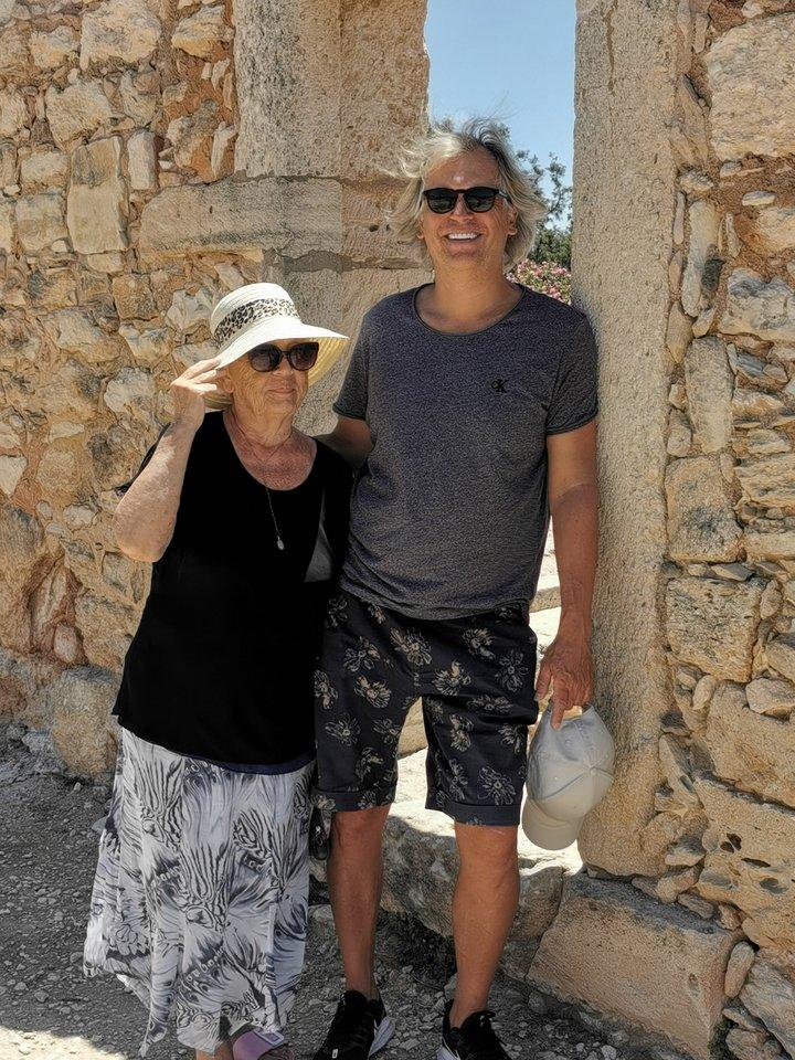 Kipre labai patinka ir Tomo mamai, kuriai 83 m.<br>Asmeninio archyvo nuotr.
