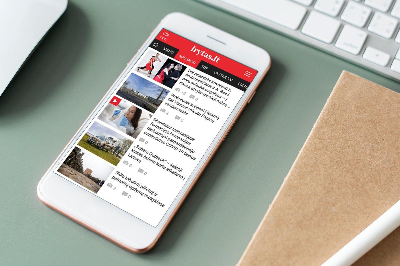 Augantis skaitytojų aktyvumas šį mėnesį naujienų portaląlrytas.ltpakėlė į naujas aukštumas – užfiksuota, kad gegužę realių vartotojų skaičius pasiekė visų laikų rekordą – 1 184 794.<br>Lrytas.lt montažas.