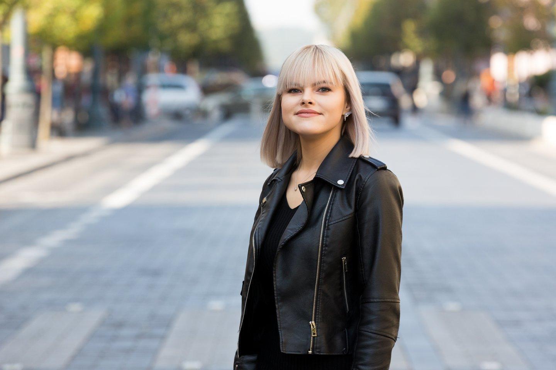 Lrytas.tv redaktorė Gintarė Valancevičiūtė.<br>T.Bauro nuotr.