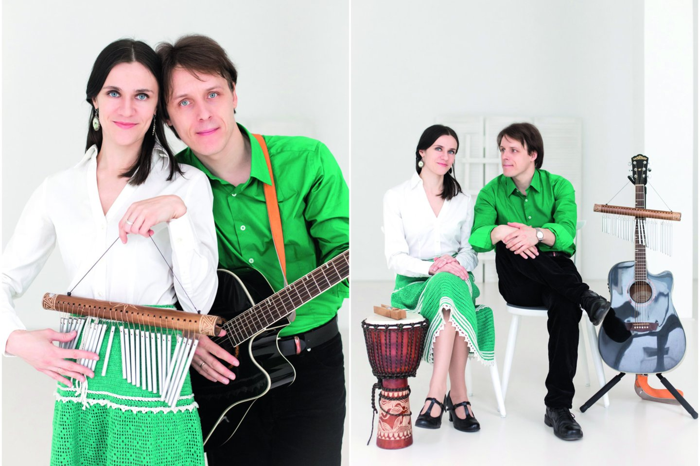 Nerijus su žmona Judita rengia koncertus, spektaklius vaikams.<br>Nuotr. iš asmeninio albumo