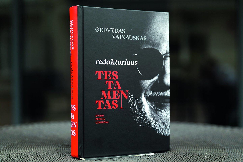 """""""Lietuvos ryto"""" vyr.redaktorius G.Vainauskas parašė memuarus."""