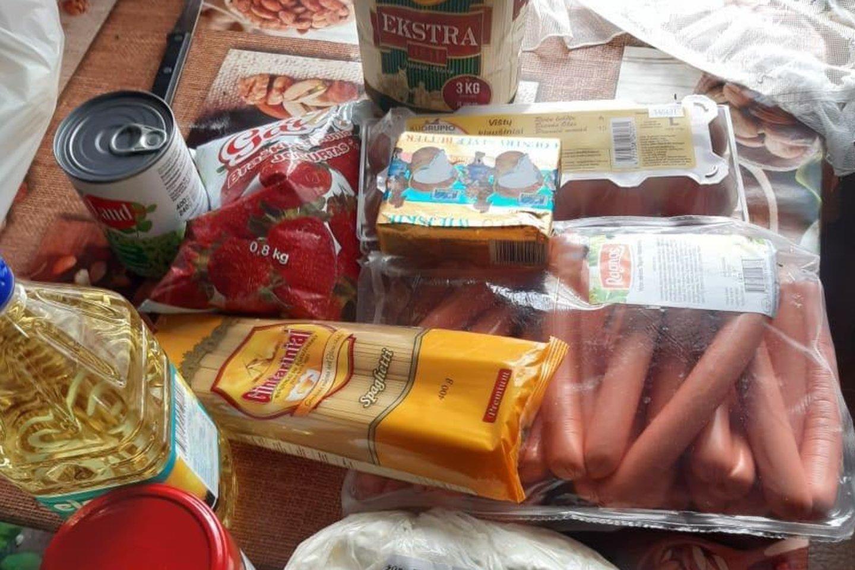Tėvus piktina maisto daviniai mokyklose.<br>Skaitytojo nuotr.