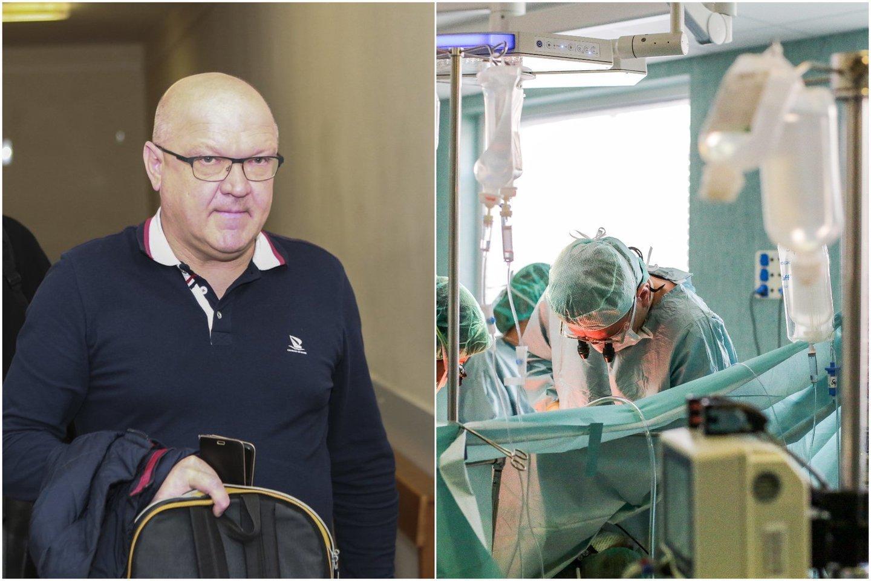 Kauno apygardos teismas išnagrinėjo dė pacientės mirties nuteisto šio miesto gydytojo Ž.Salažinsko skundą ir paskelbė savo verdiktą.<br>Lrytas.lt koliažas