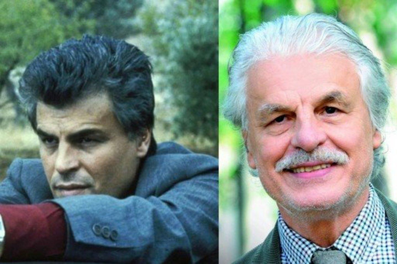 """Korado Katanio vaidmenį sukūręs Michele Placido neseniai atšventė 75-metį.<br>Kadras iš serialo """"Aštuonkojis"""" ir IMAGO / """"Scanpix"""" nuotr."""