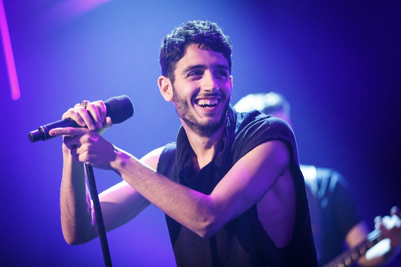 Dainininkas iš Izraelio Tamiras Grinbergas.<br>Organizatorių nuotr.