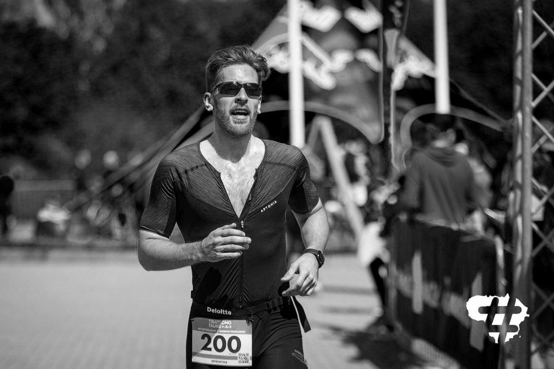 Treniruotės metu trečiadienio vakarą mirė triatloninkas Donatas Šlenys.<br>feisbuko nuotr.