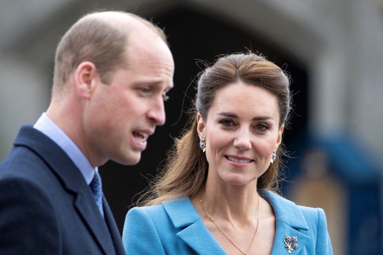 Princas Williamas ir Catherine Middleton.<br>Scanpix nuotr.