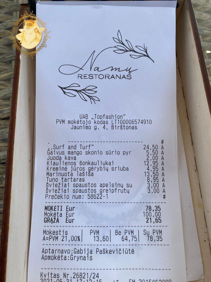 """""""Namų restoranas"""" Birštone.<br>Nuotr. iš tinklaraščio """"Riebus katinas""""."""