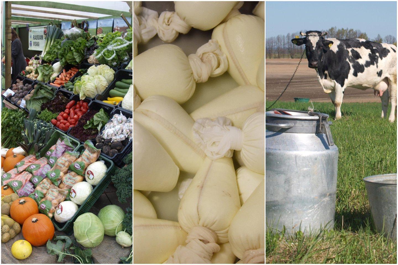 Pieno kainos seniai akylai stebimos. Norima, kad jos būtų regimos ir kitose maisto grandinėse.<br>Lrytas.lt montažas.