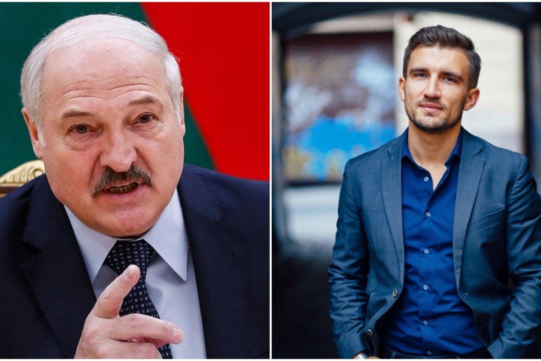 M. Milta apie A. Lukašenkos vykdomą režimą: sudarytos visos sąlygos Baltarusiją paversti didele koncentracijos stovykla.<br>lrytas.lt koliažas.