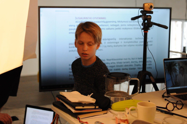 Mokymosi ypatumų turintiems vaikams pritaikomi specialūs mokymo būdai ir technologijos.<br>Asmeninio archyvo nuotr.