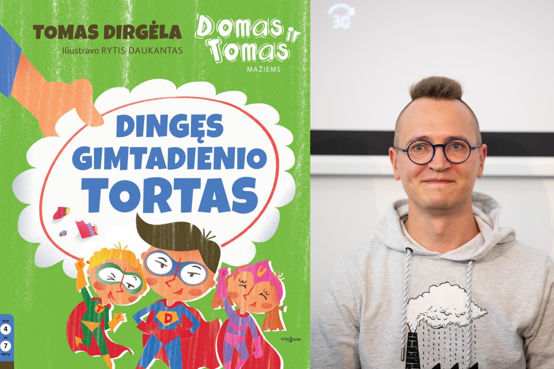 T.Dirgėlos naujoje knygoje skaitytojai persikels į laikus, kai legendiniai draugai Domas ir Tomas buvo dar maži.<br>lrytas.lt koliažas