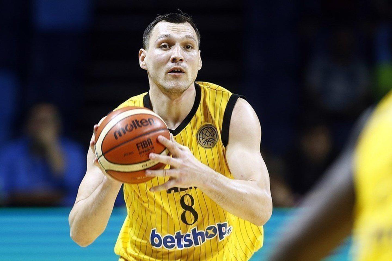 Jonas Mačiulis ir AEK klubas priartėjo prie bronzos.<br>FIBA.com nuotr.