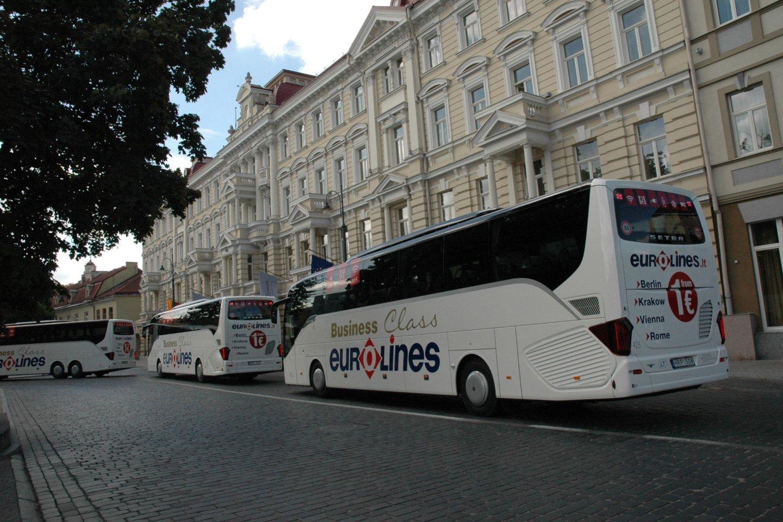 Vežėjai autobusais ir traukiniais keleivių labui dirbs kartu.<br>Pranešėjų spaudai nuotr.