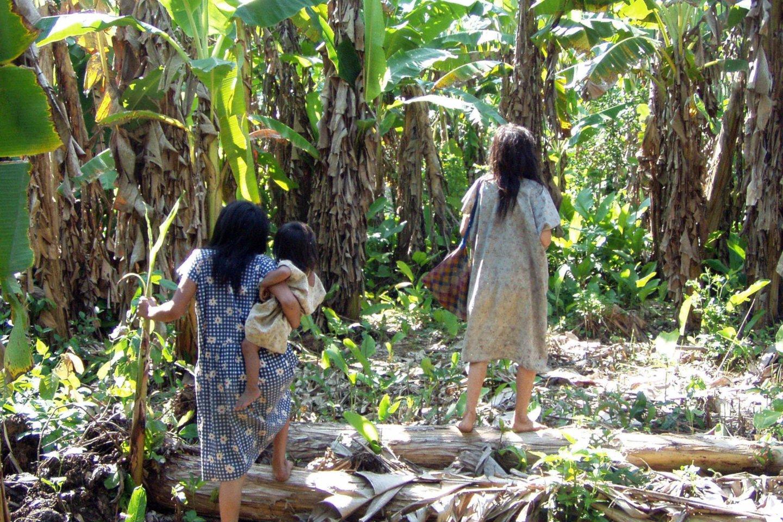 Tsimané – tai Bolivijoje gyvenančių čiabuvių tauta, įsikūrusi Amazonijos miškuose.<br>AP / Scanpix nuotr.