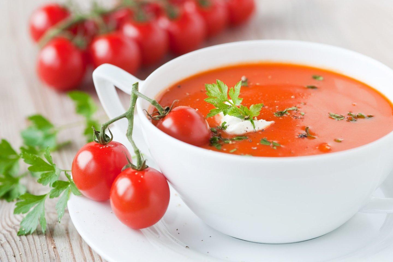 Gaspačas – šalta pomidorų sriuba.<br>123rf nuotr.