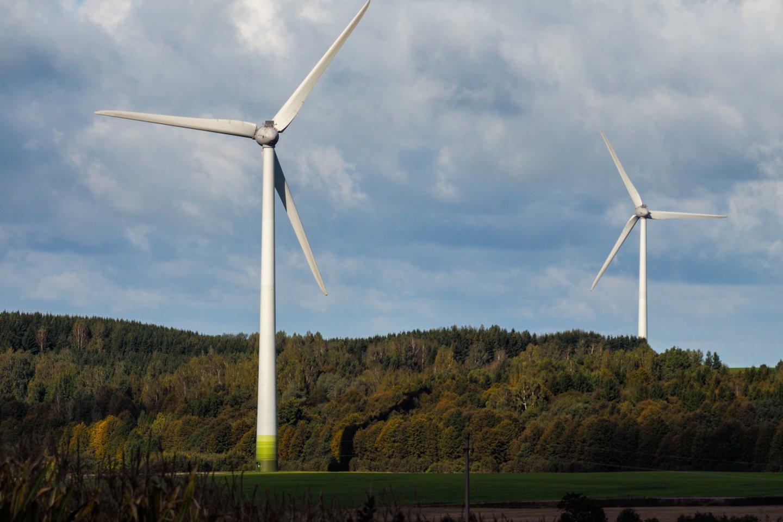 Sumažėjus vėjo generacijai, elektra tapo brangiausia nuo vasario mėnesio.<br>V.Ščiavinsko nuotr.