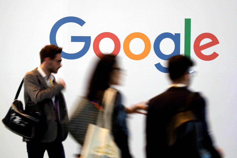 """Prancūzijos konkurencijos taryba skyrė """"Google"""" milžinišką baudą<br>Scanpix nuotr."""