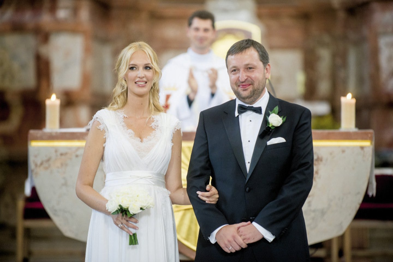 Verslininkas ir pokerio lošėjas Antanas Guoga (47 m.) oficialiai išsiskyrė su žmona Aiste Guogiene (36 m.).<br>LR archyvo nuotr.