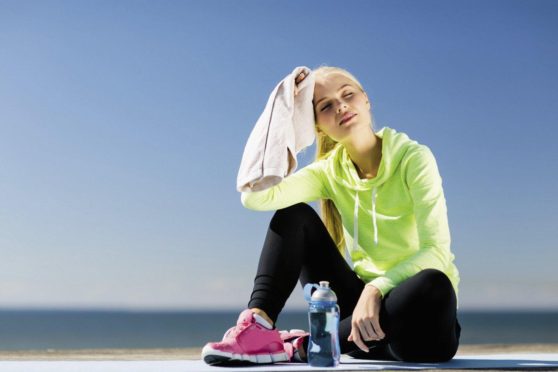 Fizinis aktyvumas apsaugo nuo daugelio ligų.<br>123rf nuotr.