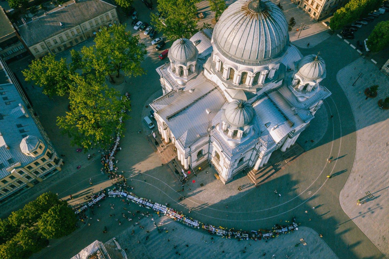 """""""Kaunas – Europos kultūros sostinė 2022"""" šįmet siūlo paminėti """"Kiemų šventę"""" neįprastu būdu.<br>A.Aleksandravičiaus nuotr."""