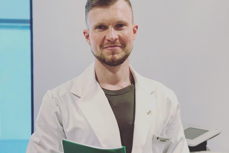 Gydytojas dietologas Edvardas Grišinas.<br>LR archyvo nuotr.