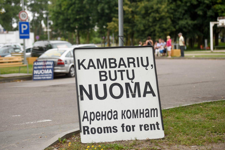 Pajūryje butą išsinuomoti norėjusi šeima liko pasipiktinusi dėl tokių nuomotojų sąlygų.<br>D.Umbraso nuotr.