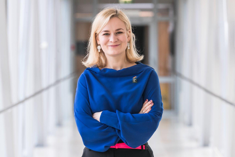 Seimo Priklausomybių prevencijos komisijos pirmininkė Morgana Danielė.<br>Asmeninio archyvo nuotr.