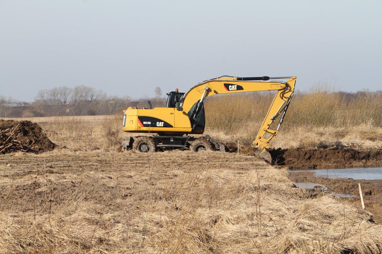 Vienam projektui, kurio pagrindo nesudaro polderių rekonstrukcija, didžiausia galima paramos suma siekia 300 tūkst. eurų.<br>M.Patašiaus nuotr.