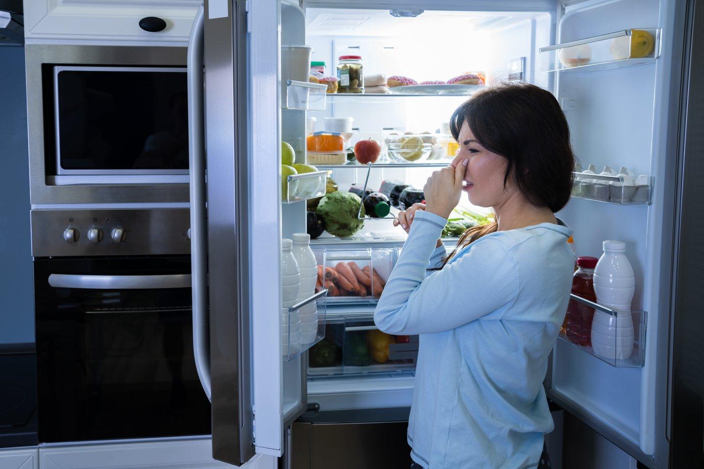Verčiau nelaukti, kada atidarius šaldytuvo dureles kvapas ims riesti nosį.<br>123rf.com asociatyvi nuotr.