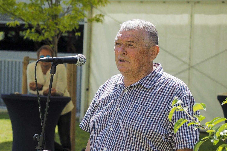 Beveik dešimtį metų prostatos vėžiu sergantis Janis Auzinšas.<br>E.Paukštės/NVI nuotr.