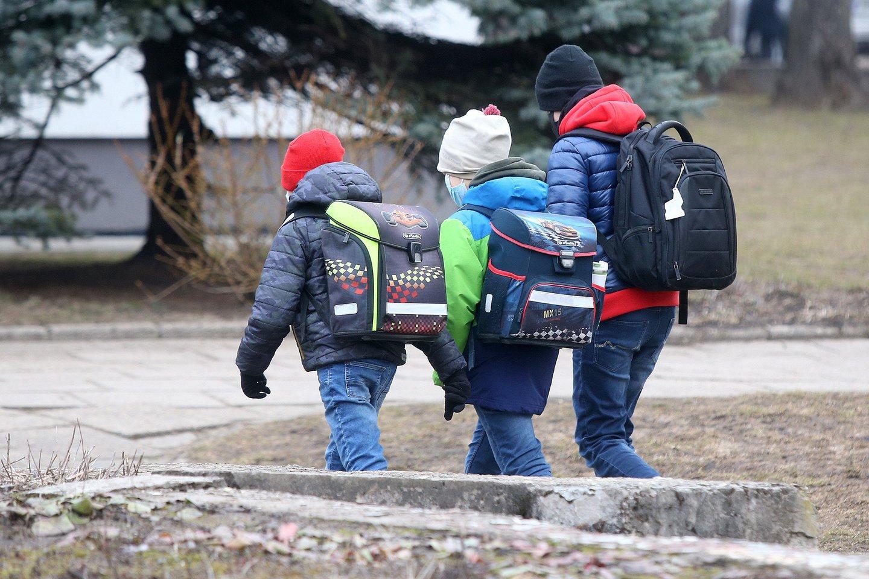 Užsitęsus nuotoliniam mokymui, kone pusė vaikų jau dabar balansuoja ties emocinio sutrikimo riba.<br>R.Danisevičiaus nuotr.
