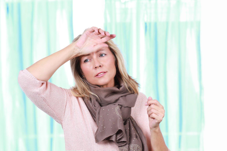 Ankstyva menopauzė gali reikšti padidėjusią insulto riziką.<br>123rf nuotr.