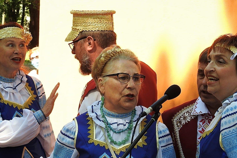 Baltarusių bendruomenė surengė smagią šventę.<br>G.Pilaičio nuotr.