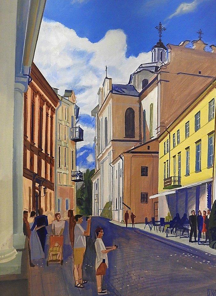 Vilniaus senamiestis.<br>G.Pilaičio nuotr.