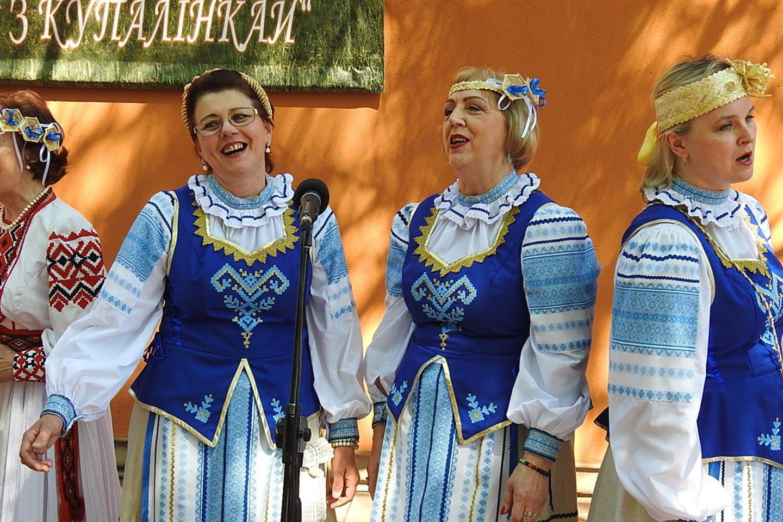 Klaipėdoje baltarusių bendruomenė pakvietė į nuotaikingą šventę.<br>G.Pilaičio nuotr.