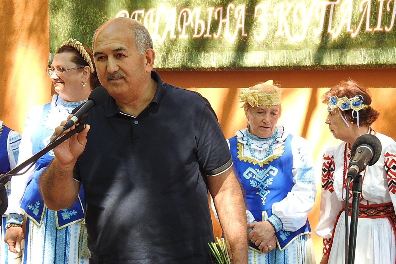 Baltarusius sveikino azerbaidžianiečiai.<br>G.Pilaičio nuotr.