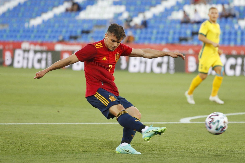 Lietuvos rinktinė visiškai neprilygo Ispanijos jaunimui.<br>Reuters/Scanpix nuotr.