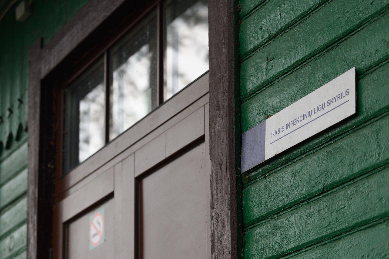 Vilniaus infekcinės ligoninės pastatų komplekso aukcionas įvyks liepos pabaigoje, pradinė kaina už sostinės Žvėryno mikrorajone esantį 13 pastatų kompleksą siekia 5,23 mln. Eur.<br>V.Skaraičio nuotr.