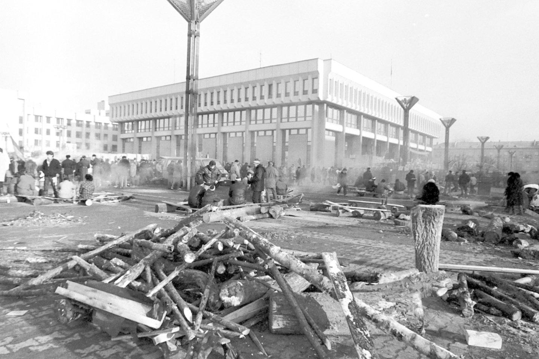 Sausio įvykiai buvo tikras išbandymas ir Lietuvos žiniasklaidai.<br>P.Lileikio nuotr.