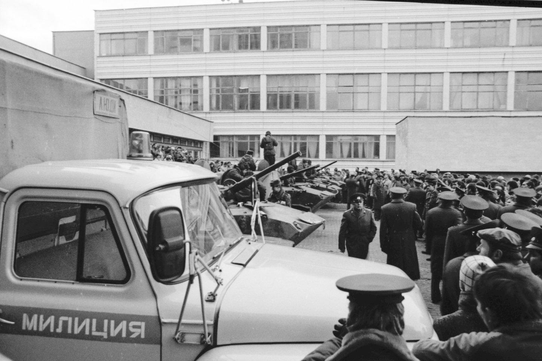 Sausio įvykiai buvo tikras išbandymas ir Lietuvos žiniasklaidai.<br>V.Ščiavinsko nuotr.