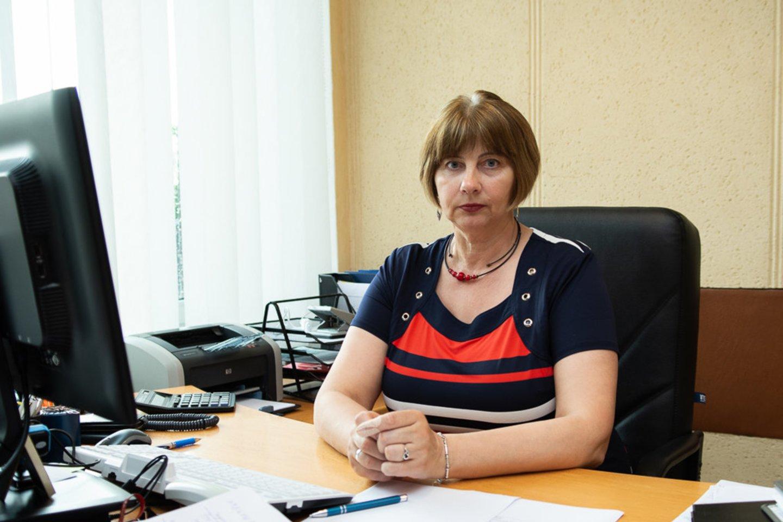 Panevėžio rajono savivaldybės administracijos Žemės ūkio skyriaus vedėja Zita Bakanienė.<br>R.Ančerevičiaus nuotr.