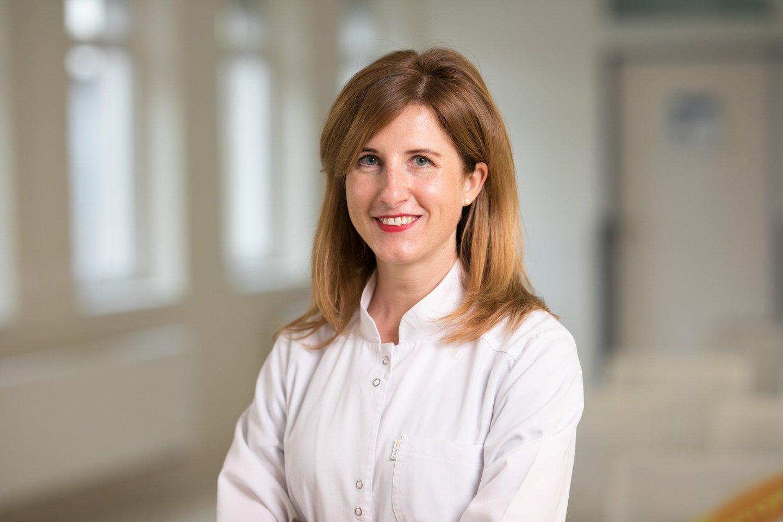 Gydytoja toksikologė Gabija Laubner.<br>RVUL nuotr.