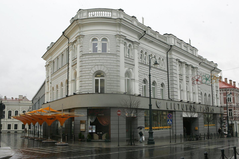 ISM atsinaujina ir keliasi į patį sostinės centrą: universitetas įsikurs buvusio Vilniaus centrinio pašto pastate, adresu Gedimino pr. 7.<br>V.Balkūno nuotr.