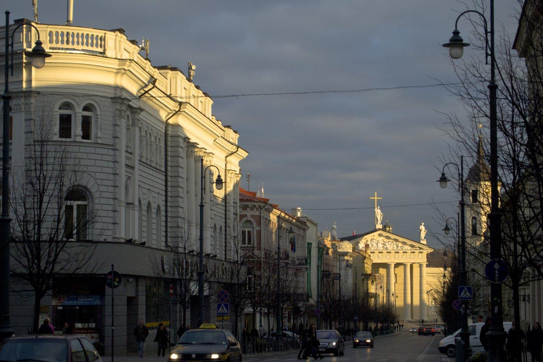 ISM atsinaujina ir keliasi į patį sostinės centrą: universitetas įsikurs buvusio Vilniaus centrinio pašto pastate, adresu Gedimino pr. 7.<br>V.Ščiavinsko nuotr.